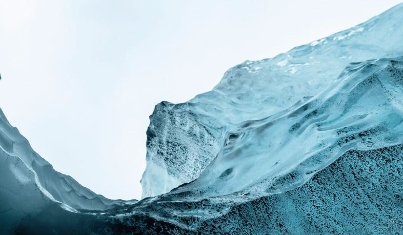 Picture of a glacier from Eurammon webpage