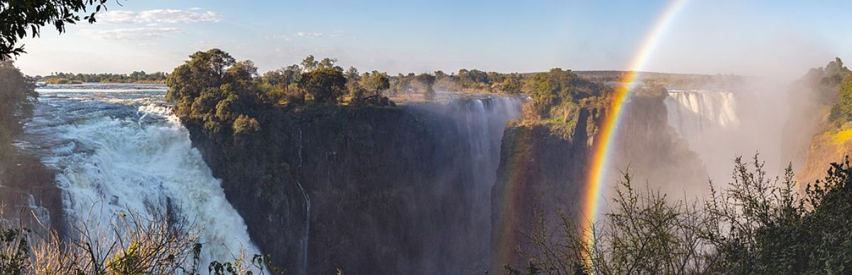 Victoria Falls of the Zambezi River